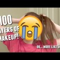100-Layers-of-Makeup-Ok...More-Like-50-EyelinerFoundationLiquid-Lipstick