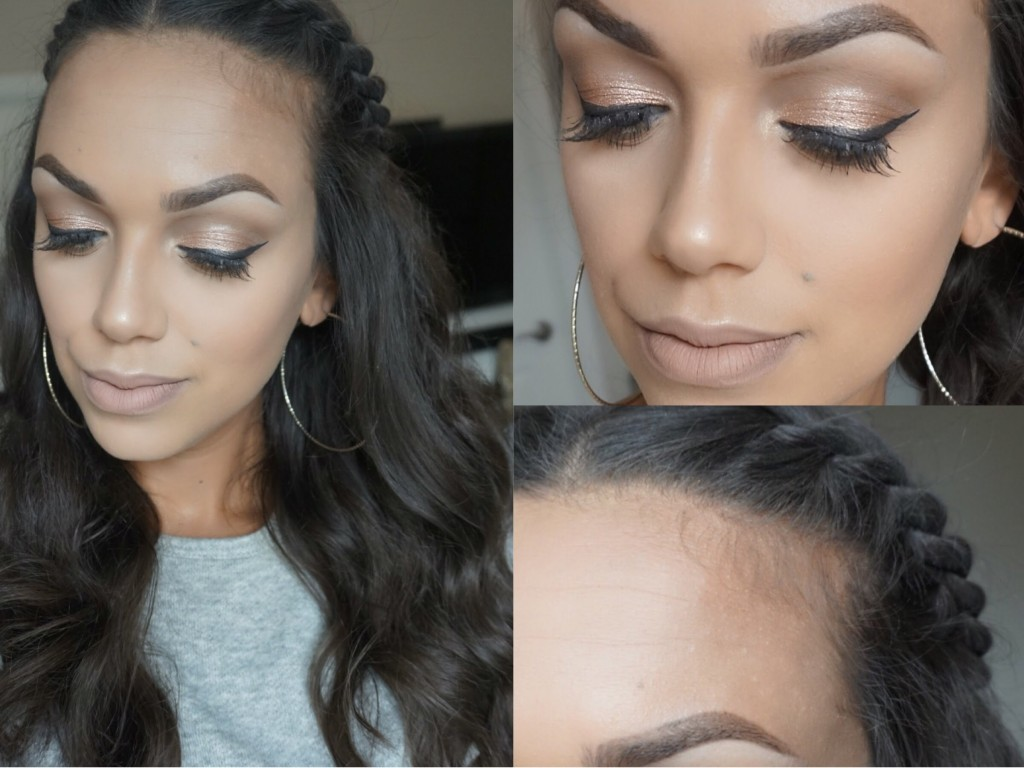 Back To School Natural Makeup And Crown Twist Hair Tutorial