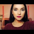 CUT-CREASE-PURPLE-LIPS-MAKEUP-TUTORIAL