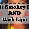Makeup-Look-With-Dark-Lips