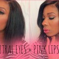 NEUTRAL-EYES-PINK-LIPS-MAKEUP-TUTORIAL-SonniStrick-
