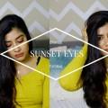 Orange-sunset-eyes-for-indianbrown-skin-tone-makeup-tutorial-FashionMoksha