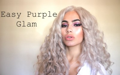 Purple-Goddess-Makeup-New-Hair