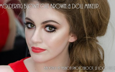 Smoldering-brown-doll-makeup-backstage-at-Nicola-Smyth-hair-photoshoot-tutorial.