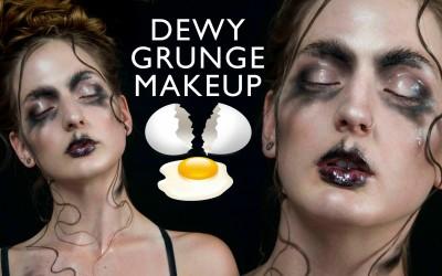 Dewy-Grunge-Makeup-Hair-tutorial