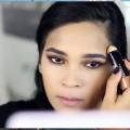 Easy-Drugstore-Fall-Makeup-Tutorial-Cranberry-Metallic-Lips-MissLizHeart