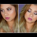 Easy-Fall-Lavender-Glam-Makeup-Tutorial-StefanySomoza