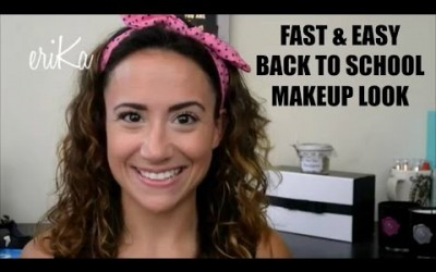 Easy-Fresh-Quick-Back-To-School-Makeup-Look-No-Foundation-Five-Minute-Face