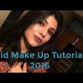 Eid-al-Adha-Make-up-2016-Soft-Brown-Smokey-Eyes-And-Nude-Lips