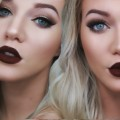 Extreme-Cat-Eye-Chocolate-Lips-Makeup-Tutorial-emilyyorlando