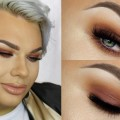 Full-Glam-Warm-Toned-Smokey-Eyes-Makeup-Tutorial