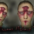 Halloween-Makeup-How-Tos-Bruised-Eyes-Peeling-Skin-BLOOD