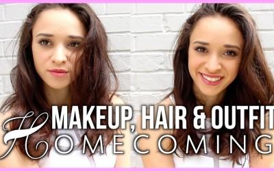 Homecoming-Makeup-Hair-Dress