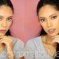 Monochromatic-Mauve-Makeup-Look-GRWM-Zendaya-Inspired