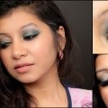 Olive-Eyes-And-MAC-Mocha-Lips-Makeup-Tutorial