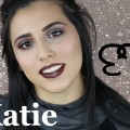 Smokey-Glittery-Eye-Dark-Lips-with-Katie-
