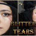 Steampunk-Inspired-Copper-and-Gold-Makeup-Tutorial-GLITTER-TEARS