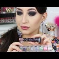 10-Glitter-Smokey-Eyes-Purple-Lips-Makeup-Tutorial-Melissa-Samways-