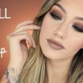 Brown-Smokey-Eye-Tutorial-Fall-Makeup-Jazzi-Filipek
