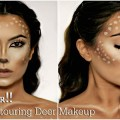 Easy-Deer-Makeup-Tutorial-Halloween-2016