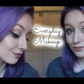 Everyday-Makeup-ft.-New-Purple-Hair