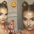 Glam-Lion-Halloween-Makeup-Hair-Tutorial-2016-Aoife-Conway-
