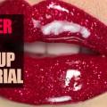 Glitter-Lips-Makeup-Tutorial