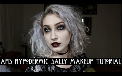 HALLOWEEN-AHS-Hypodermic-SALLY-Inspired-Makeup-Hair-Outfit-