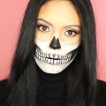 HALLOWEEN-SKULL-MAKEUP-Inspired-by-Chrisspy-Affordable