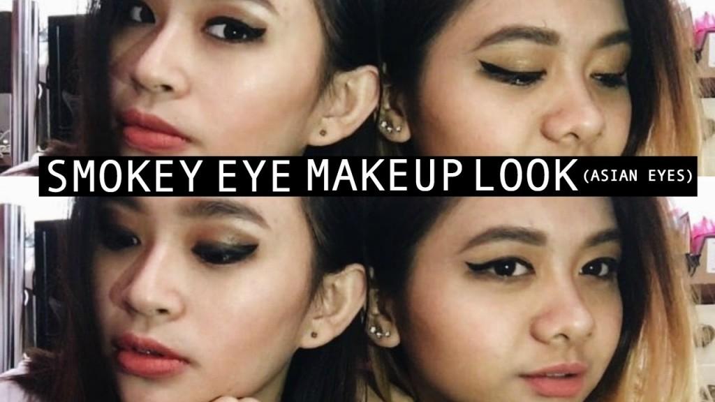 Smokey Eye Make Up Look For Asian Eyes Chinese 2016 Nowchic