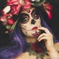 Sugar-Skull-Halloween-makeup-tutorial-INA-PANDORA