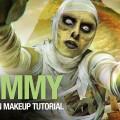 The-mummy-Halloween-makeup-tutorial