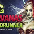 WoW-Legion-Sylvanas-Windrunner-Halloween-makeup-tutorial