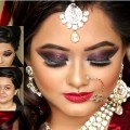 Bridal-wedding-makeup-by-self-Tutorial-Video-HD-720