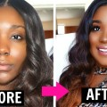 DRUGSTORE-MAKEUP-TUTORIAL-I-Flawless-Foundation-Routine-Makeup-for-Black-Women-2016