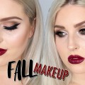 Fall-Makeup-Tutorial-Deep-Berry-Lips-Smokey-Eyes