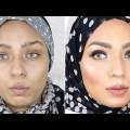 HYDRATING-BUT-MATTE-FOUNDATION-ROUTINE-FOR-WINTER-FALL-COMBINATION-SKIN-EYE-MAKEUP-TUTORIAL