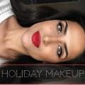 Holiday-Makeup-with-Red-Lips-Makeup-Tutorial-Christmas-Makeup-New-Years-Makeup-Fall-Makeup