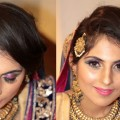Indian-Bridal-Makeup-Pink-Blue-Eyes.