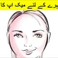 Makeup-Tips-For-Round-Face-In-Urdu-and-Hindi-Gol-chehre-kay-liye-makeup-ka-tariqa