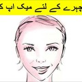 Makeup-Tips-For-Triangular-Face-Shape-in-urdu-and-hindi