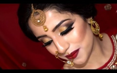 New-Bridal-Makeup-Traditional-Asian-Bridal-Makeup-2016-2017