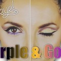 Purple-and-Gold-Eyes-Makeup-Tutorial