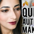 QUICK-AUTUMN-MAKEUP-TUTORIAL-SKINCARE-ROUTINE-Glowy-Skin-and-Dark-Lips-Ysis-Lorenna