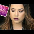 Tartelette-In-Bloom-Palette-Christmas-Eve-Makeup-Tutorial