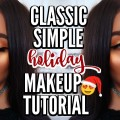 Classic-Simple-Holiday-Makeup-Tutorial-2016-Gold-Eyes-Red-Lips-Deanna-Borocz