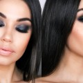 Gray-Black-Smokey-Eye-Holiday-Smokey-Eye-Makeup-Tutorial-Eman