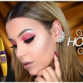 Holiday-GRWM-Quick-Easy-Makeup-Hair-idea