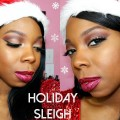 Holiday-Sleigh-Makeup-Tutorial-Glitter-Lips