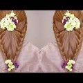 Indian-Bridal-Hair-and-MakeupIntricate-Knotty-Braid-Hairstyle-Tutorial